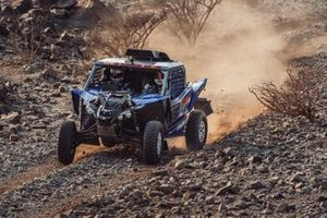 #385 Yamaha Powered by X-Raid Team: Mattias Ekström, Emil Bergkvist