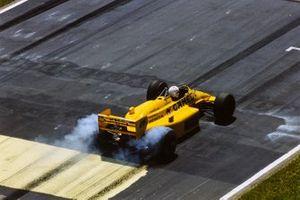 Satoru Nakajima, Lotus 99T Honda