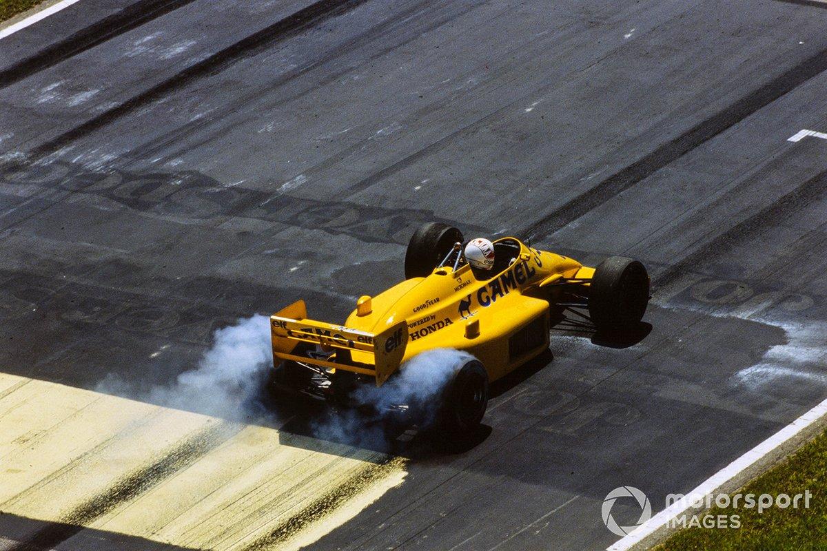 中嶋悟(1987年ブラジルGP)