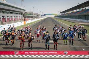 Moto2 grid