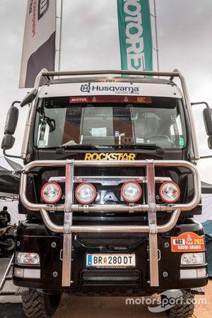Husqvarna Factory Racing truck