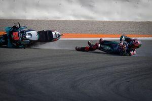 Chute de Fabio Quartararo, Petronas Yamaha SRT