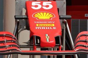 Ferrari SF21 nose detail
