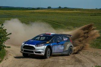 Marcin Słobodzian, Kamil Kozdroń, Ford Fiesta R5, Rajd Polski, Testy