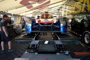 Technische Inspeltion: #54 CORE autosport Nissan DPi, DPi: Jonathan Bennett, Colin Braun, Romain Dumas