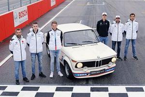 Timo Glock, BMW Team RMG, Joel Eriksson, BMW Team RBM, Marco Wittmann, BMW Team RMG, Shelton van der Linde, BMW Team RBM, Philipp Eng, BMW Team RBM, Bruno Spengler, BMW Team RMG