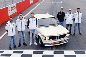 Timo Glock, BMW Team RMG, Joel Eriksson, BMW Team RBM, Marco Wittmann, BMW Team RMG, Shelton van der Linde, BMW Team RBM, Philipp Eng, BMW Team RBM, Bruno Spengler, BMW Team RMG