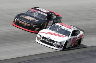 Cole Custer, Stewart-Haas Racing, Ford Mustang Haas Automation, Gray Gaulding, SS Green Light Racing, Chevrolet Camaro