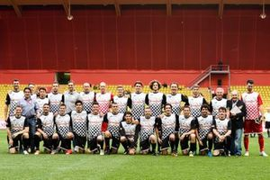 Players group photo