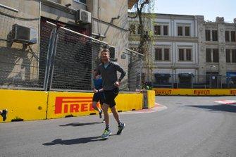 Nico Hulkenberg, Renault F1 Team runs the track