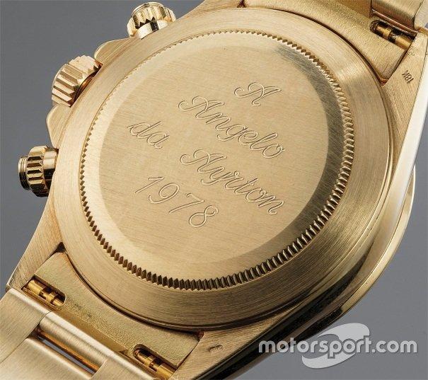 Rolex Daytona dado por Ayrton Senna a Angelo Parrilla