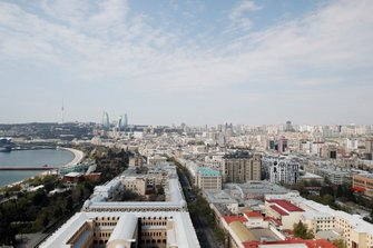 View of Baku