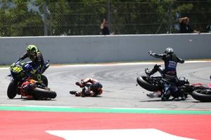 Jorge Lorenzo, Repsol Honda Team crash