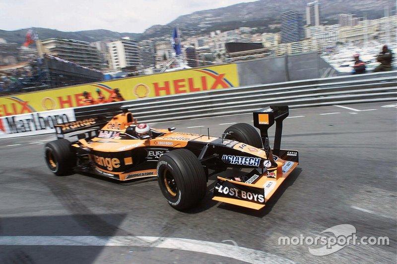 Jos Verstappen, Arrows Asiatech