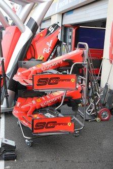 Ferrari SF90 voorvleugel