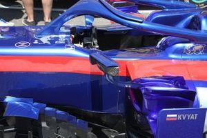 Detalle lateral del Toro Rosso STR14