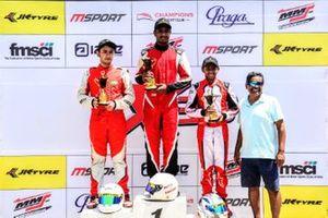 First place Nirmal umashankar, second place Debarun Banerjee, third place M R Rishon