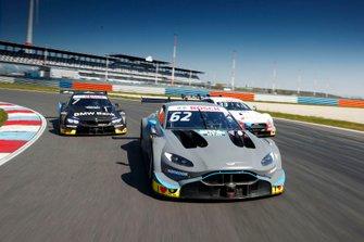 Ferdinand Habsburg, R-Motorsport, Aston Martin Vantage AMR, Bruno Spengler, BMW Team RMG, BMW M4 DTM, René Rast, Audi Sport Team Rosberg, Audi RS 5 DTM