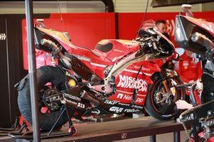 Bike of Danilo Petrucci, Ducati Team's Ducati
