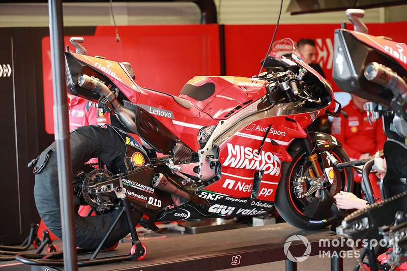 Bike of Danilo Petrucci, Ducati Team's Ducati