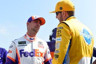 Denny Hamlin, Joe Gibbs Racing, Toyota Camry FedEx Office, Kyle Busch, Joe Gibbs Racing, Toyota Camry Pedigree