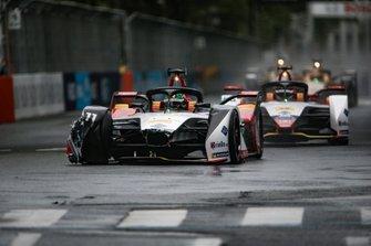 Lucas Di Grassi, Audi Sport ABT Schaeffler, Audi e-tron FE05, met schade