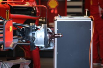 Ferrari SF90 front brake detail