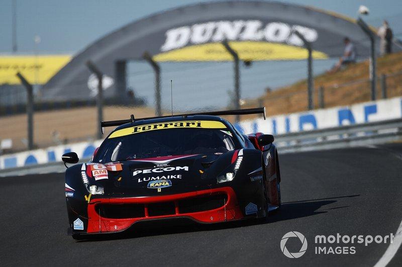 #61 Clearwater Racing Ferrari 488 GTE: Luis Perez Companc, Matthew Griffin, Matteo Cressoni