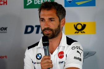 Press Conference, Timo Glock, BMW Team RMG
