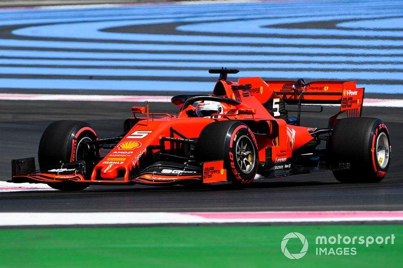 Sebastian Vettel, Ferrari, 6 puan
