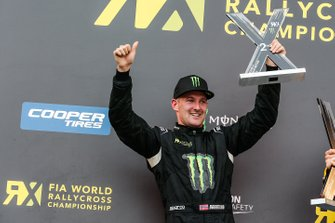 Podium: second place Andreas Bakkerud, RX Cartel