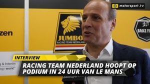 Frits van Eerd namens Racing Team Nederland over 24 uur van Le Mans