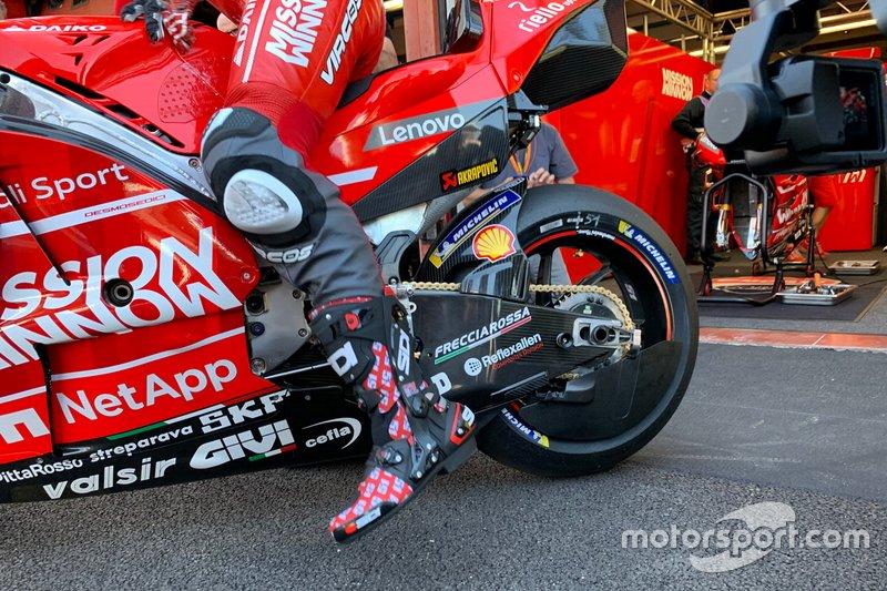 Hinterradverkleidung: Ducati Desmosedici GP19