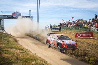 Dani Sordo, Carlos Del Barrio, Hyundai Motorsport, Hyundai i20 Coupe WRC