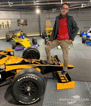 Fredy Lienhard Jr. sur IndyCar