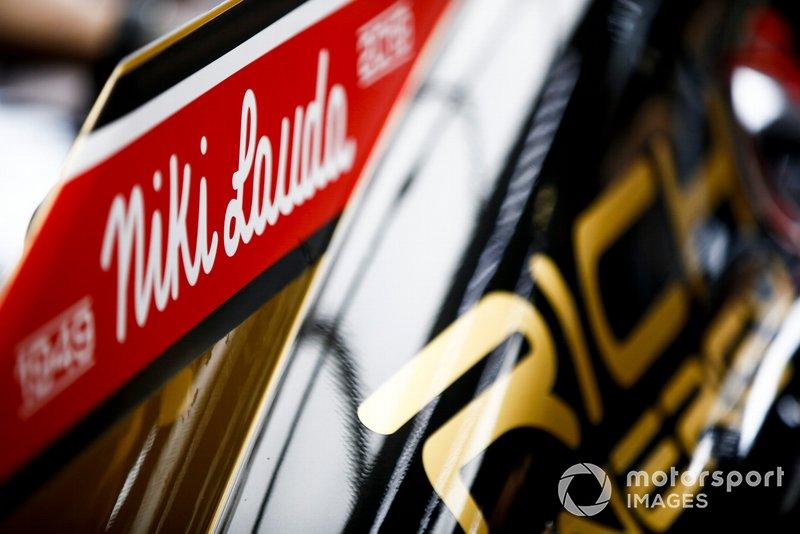 Вшанування пам'яті Нікі Лауди, Haas F1 VF-19