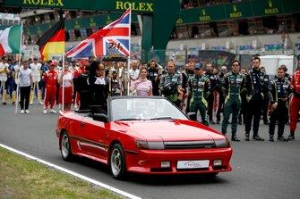 Il trofeo della 24 Ore di Le Mans