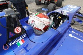 Francesco Simonazzi, Cram Motorsport,Tatuus F.4 T014 Abarth
