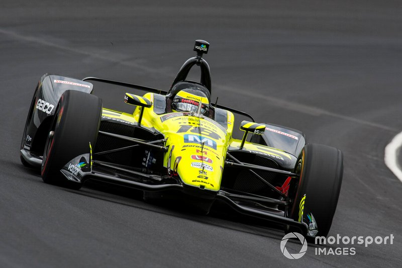 7º: #18 Sebastien Bourdais, SealMaster, Dale Coyne Racing/Vasser-Sullivan Honda: 228.800 mph