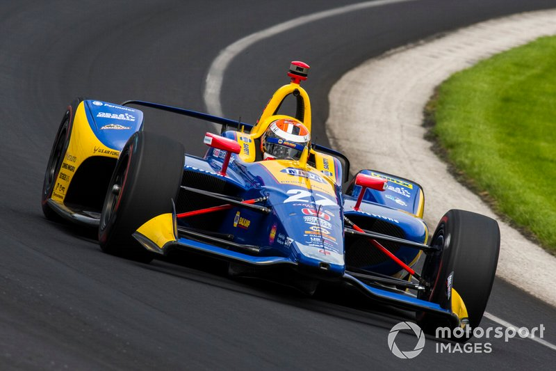 Platz 2: Alexander Rossi, Andretti Autosport Honda