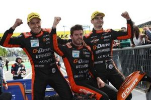 Yarış galibi #26 G-Drive Racing Aurus 01 Gibson: Roman Rusinov, Job Van Uitert, Norman Nato