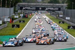 Le départ des 4 Heures de Monza