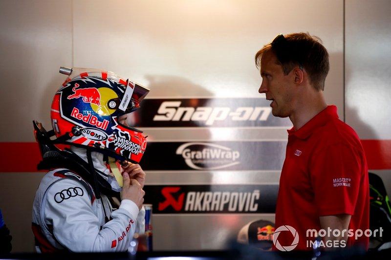 Andrea Dovizioso, Audi Sport Team WRT con Mattias Ekström