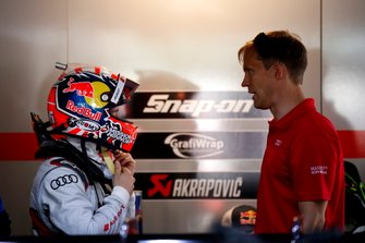Andrea Dovizioso, Audi Sport Team WRT with Mattias Ekström