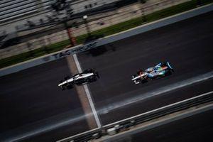 Jordan King, Rahal Letterman Lanigan Racing Honda, Pippa Mann, Clauson-Marshall Racing Chevrolet