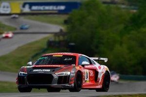 #04, Audi R8 LMS GT4, CJ Moses and James Sofronas