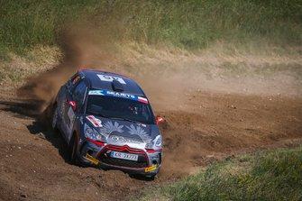 Tomasz Zbroja, Jakub Wróbel, Citroen DS3 R3T, FIA ERC, ERC3, Rally Poland