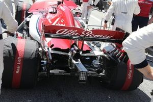 Alfa Romeo Racing C38, rear