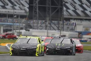 Brandon Jones, Joe Gibbs Racing, Toyota Supra Menards/Inspire, Riley Herbst, Joe Gibbs Racing, Toyota Supra Monster Energy