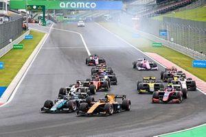 Guilherme Samaia, Campos Racing, Sean Gelael, Dams and Marino Sato, Trident